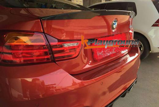 m4 performance style spoiler in frp